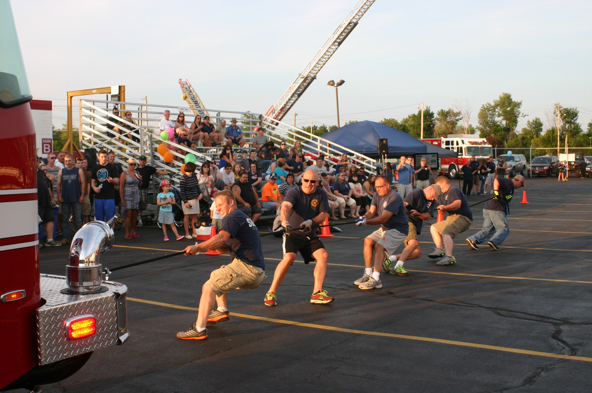 E-ONE's 3rd Annual Fire Truck Pull