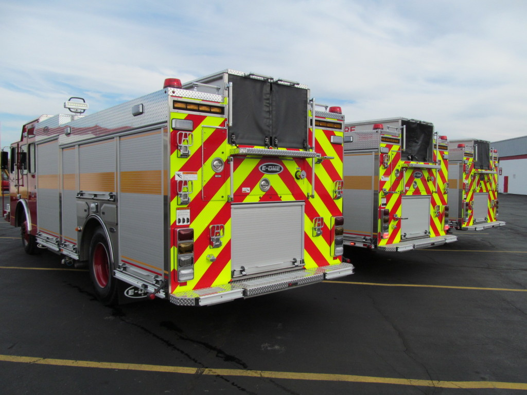 Toronto's E-ONE Stainless Pumpers