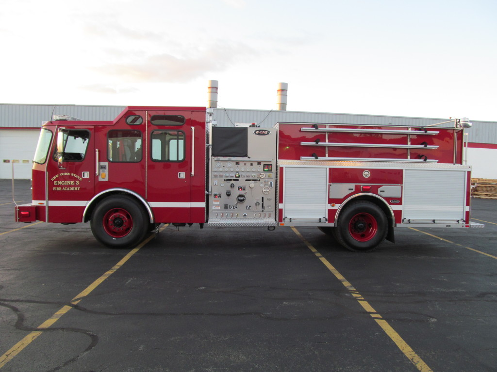 E-ONE Stainless Pumper - NYS Department of General Services