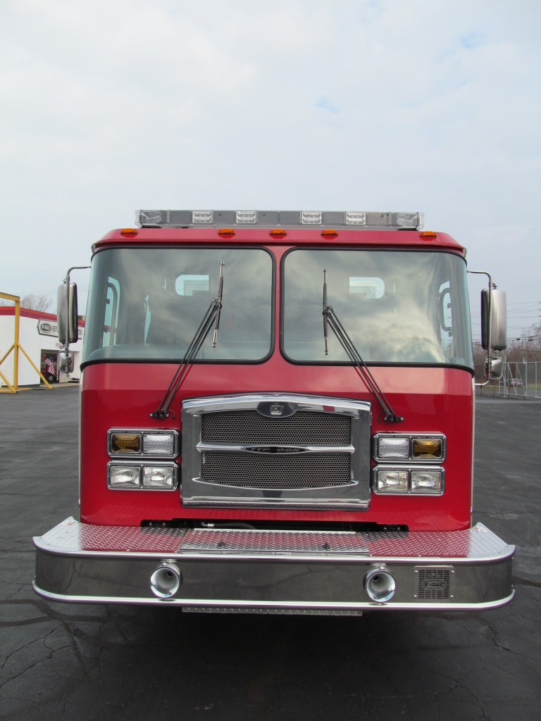 E-ONE Stainless Pumper Walton County Fire Rescue