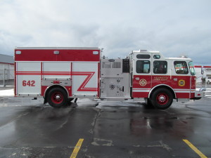 E-ONE STAINLESS PUMPERS - Henrietta Fire District