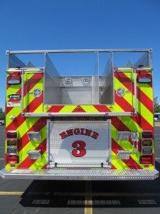 E-ONE Stainless Pumper - Auburn, NY Fire Department