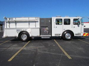 E-ONE Stainless Pumper - Anne Arundel FD
