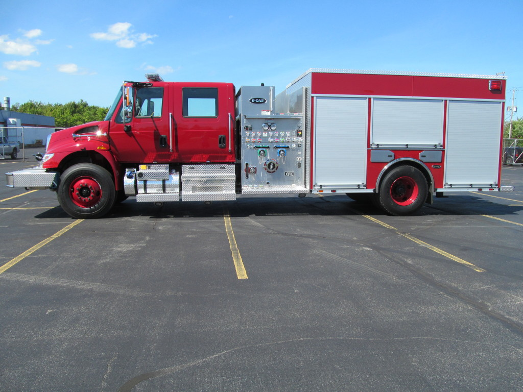 E-ONE Stainless Pumper - Jasper County