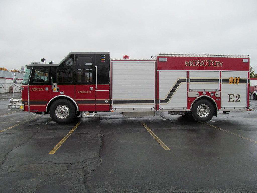 E-ONE Stainless Pumper - Moncton Fire Dept