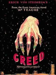 The Greatest films of all time:16.Greed (1924)(USA)