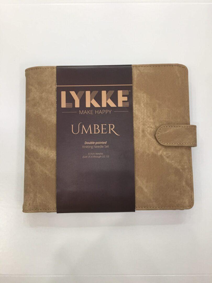 LYKKE UMBER 6″ DOUBLE POINTED LARGE SET
