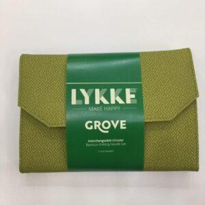 LYKKE GROVE 5″ IC SET – GREEN BASKETWEAVE EFFECT
