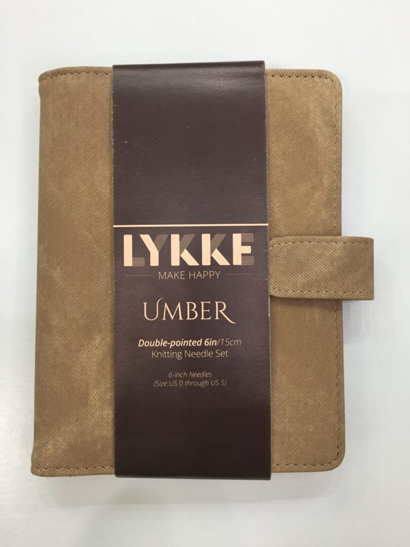 LYKKE UMBER 6″ DOUBLE POINTED SMALL SET