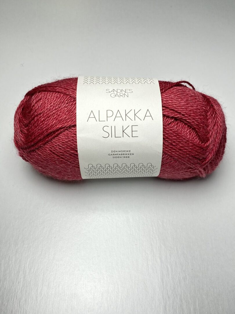 A red yarn