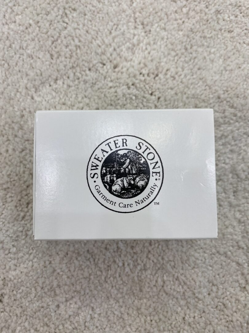 A Sweater Stone box