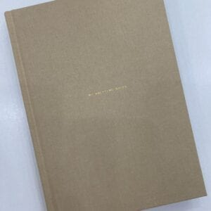A notebook for knitting