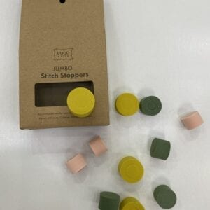 A box of stitch stoppers