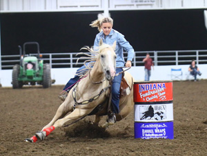 TS Queens Royal Shay 2013 Gelding out of Queens Royal Ransom Ridden by Emily Gernaat Futurity, Derby and 1D Barrel Money-earner