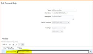 Create Account Rule - Tangenz Corporation