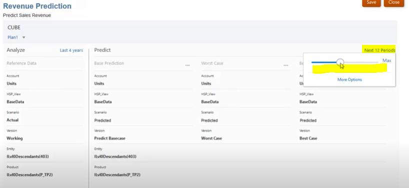 Oracle EPM Cloud- Auto Predict (Revenue) | Tangenz Corporation