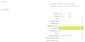 Balance adjustment in Oracle HCM Cloud- Tangenz Corporation