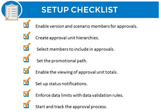 Approval Workflows Setup Checklist | Tangenz Corporation