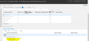 Local Taxes deduction in Oracle HCM Cloud- State Income Tax