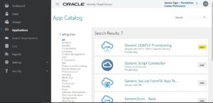 Setup Generic LDAP V3 Application Oracle IDCS