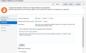 Salesforce into Oracle ERP Cloud