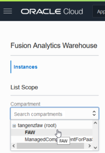 Fusion Analytics Warehouse | Tangenz Corporation