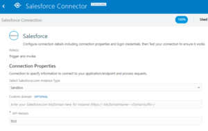 Salesforce connector   Tangenz Corporation