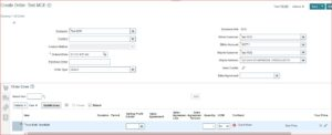 order entry | How to setup Dropship order Process without Global Order Promising
