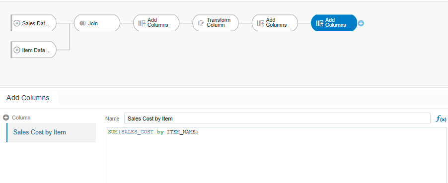Oracle Analytics Cloud - DF_10 | Tangenz Corporation