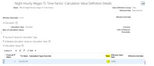 Custom Rules Template   Oracle HCM Cloud