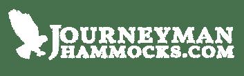 Journeyman Hammocks White Logo with Transparent background