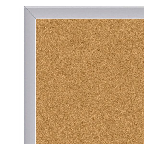 corner close up of cork board