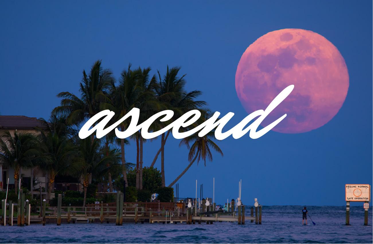 full moon rising over jupiter inlet