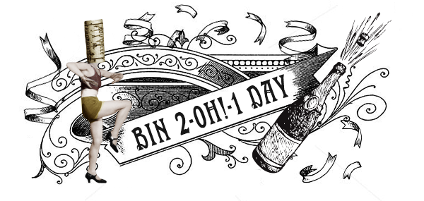 Bin 2-oh!-1 Day Birthday Bash