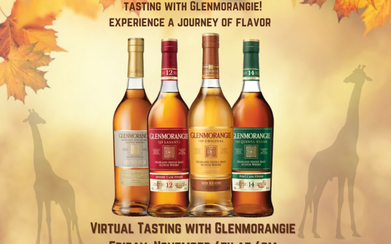 Glenmorangie Virtual Scotch Tasting