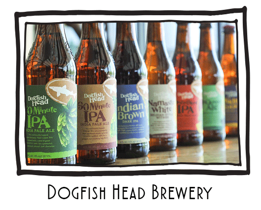 Dogfish Head Brewery Tasting