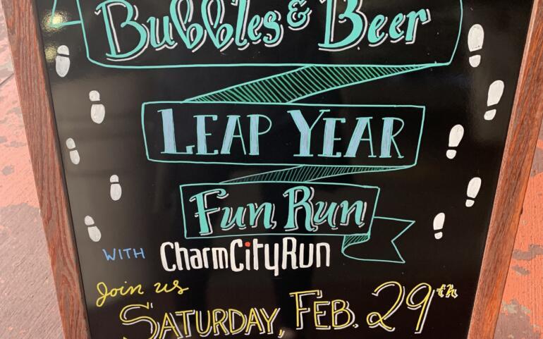 Bubbles & Beer Leap Day Fun Run w/ Charm City Run
