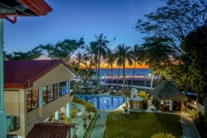 Resort beach front View