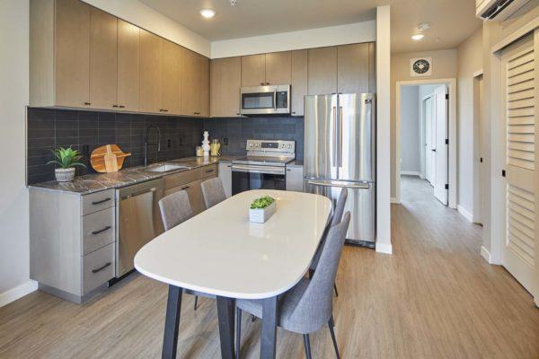 M63 Apartments Kitchen
