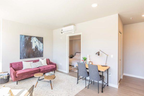 M63 Apartments Living Room