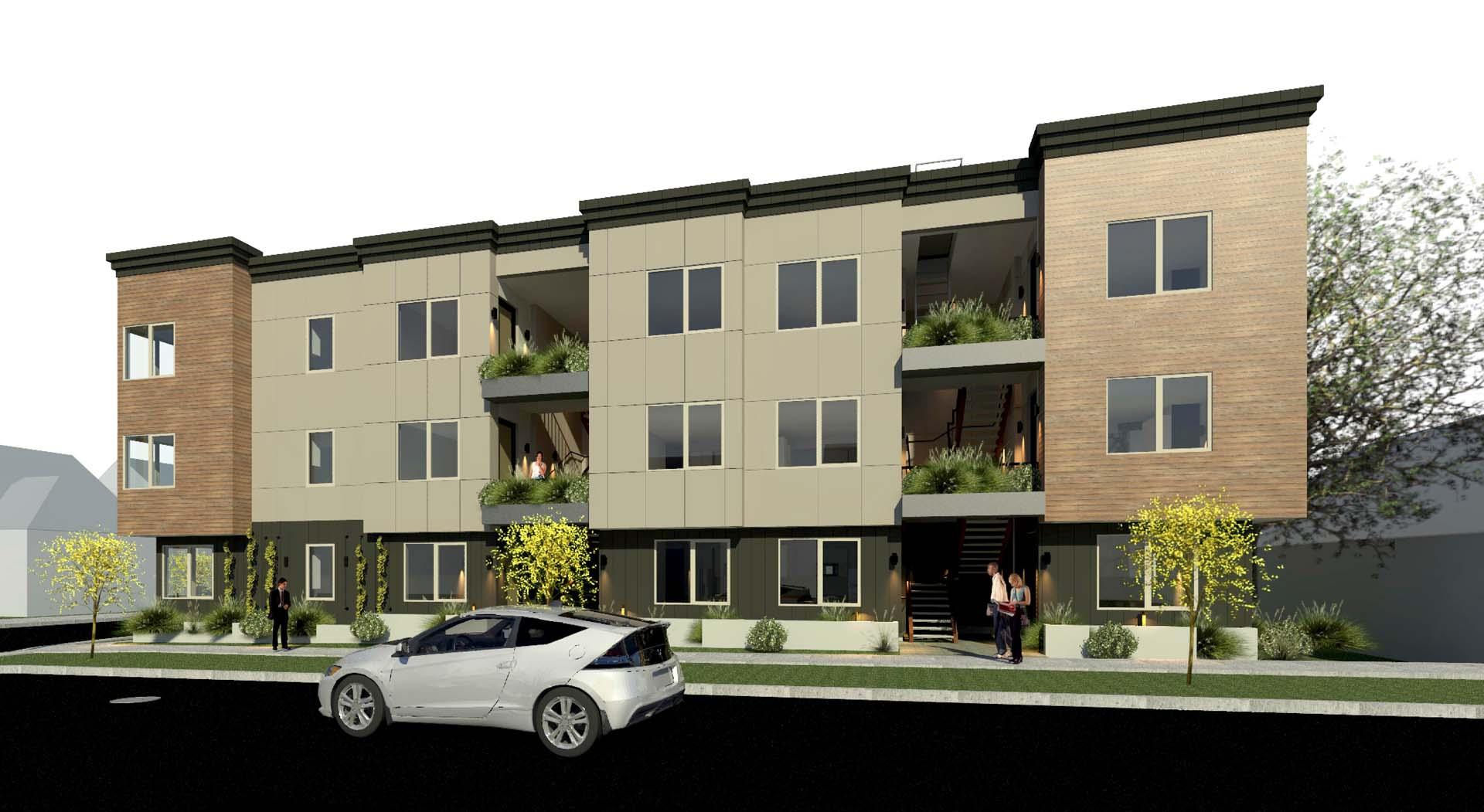 M63 Apartments Exterior