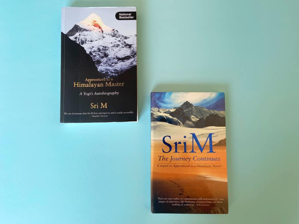 Book review - Apprenticed to a Himalayan Master by Sri M- Mind Power