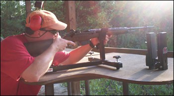 Shooting Rest M1A Rifle