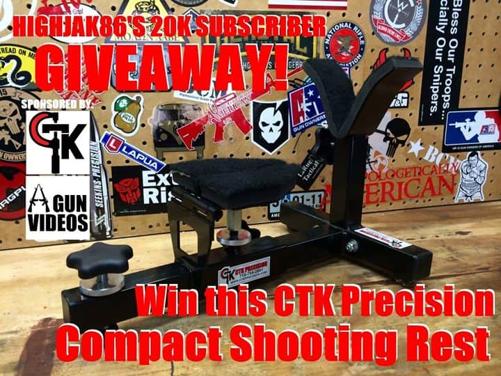 Highjak86 Compact Shooting Rest Giveaway