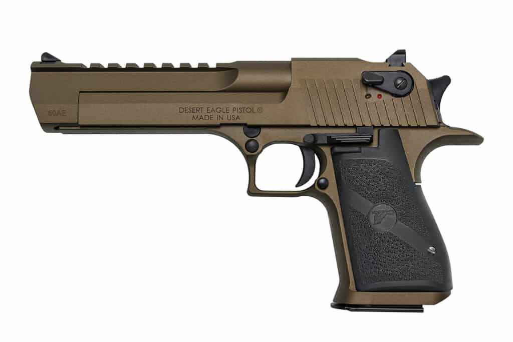 Magnum Research Goes Bronze with the Desert Eagle .50AE