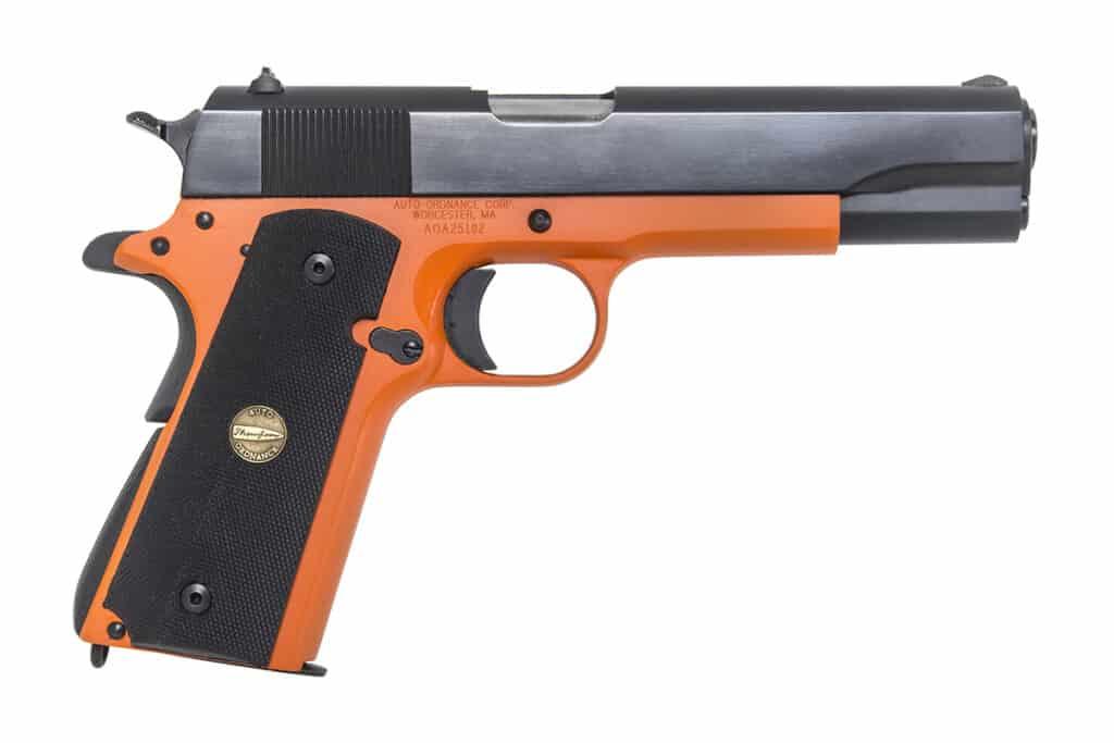 Kahr Arms Cabela's Exclusive - Black-Orange 1911-R