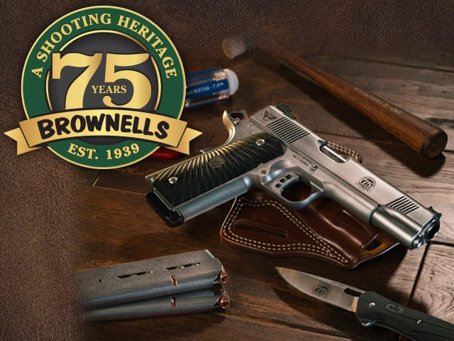 Brownells 75th Anniversary to be Showcased at 143rd NRA Annual Meeting