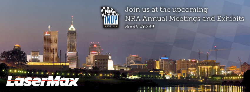 LaserMax Booth Events at NRA Annual Meeting