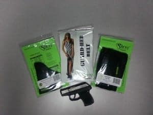 Sticky Holsters for Kel-Tec P-3AT