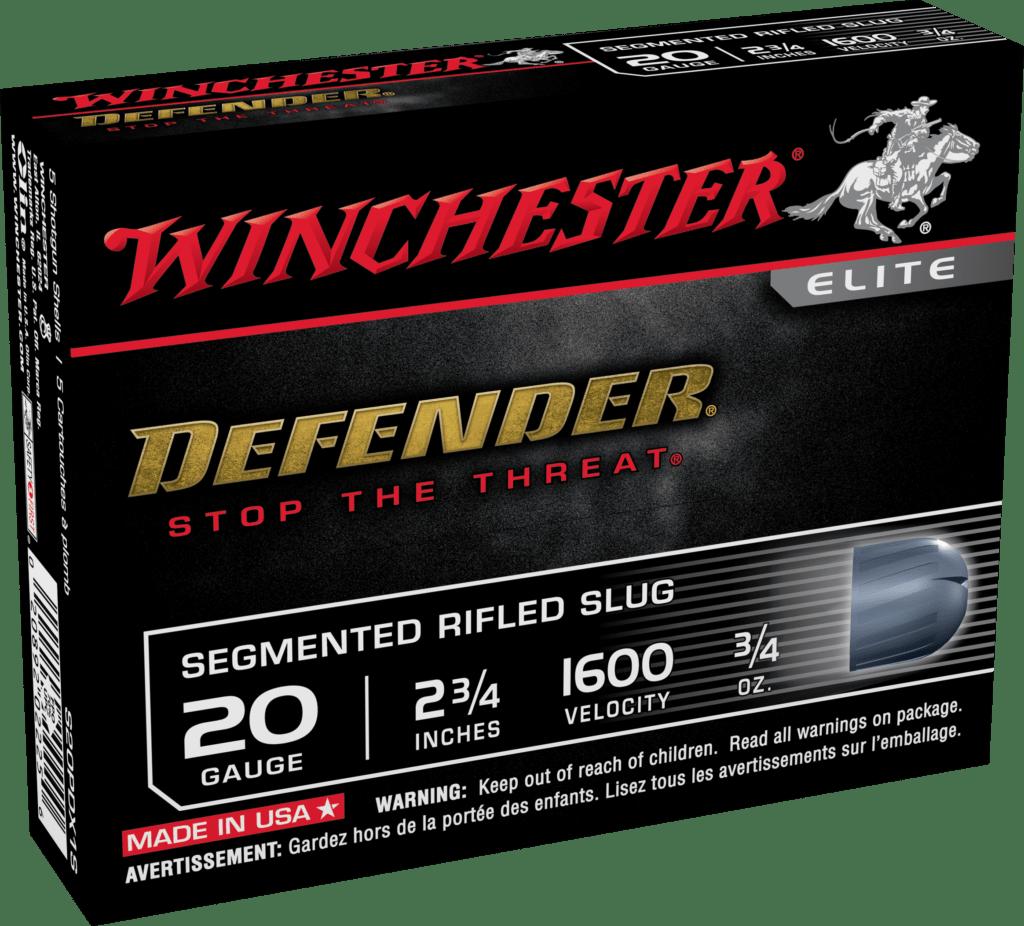 Winchester 20 Gauge Segmenting Slug